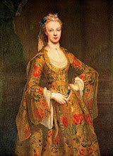 Photo: Lady Caroline Cavendish was born on 22 May 1719.1 She was the daughter of William Cavendish, 3rd Duke of Devonshire and Catherine Hoskins. She married William Ponsonby, 2nd Earl of Bessborough, son of Brabazon Ponsonby, 1st Earl of Bessborough and Sarah Margetson, on 5 July 1739. She died on 20 January 1760 at age 40.1 She was buried at All Saints Church, Derby, Derbyshire, England.     Her married name became Ponsonby. As a result of her marriage, Lady Caroline Cavendish was styled as Countess of Bessborough on 4 July 1758. By Jean Etienne Liotard, 1742
