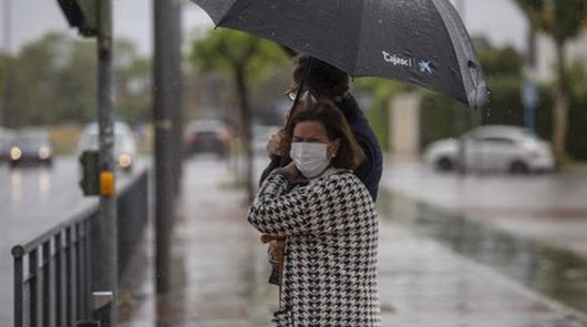 El mal tiempo vuelve a poner en aviso naranja a la provincia