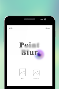 Point Blur (desenfoque Fotos) Screenshot