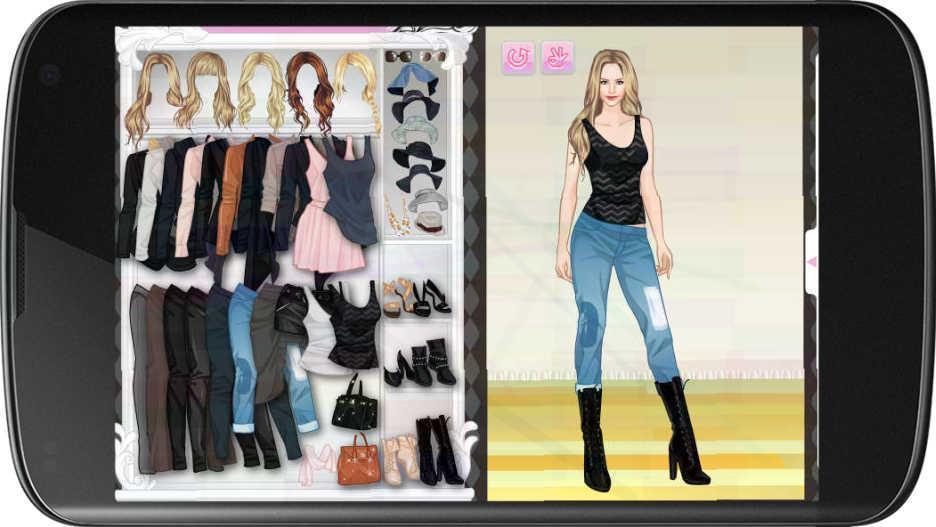 Janna Stylish Dress Up Screenshot