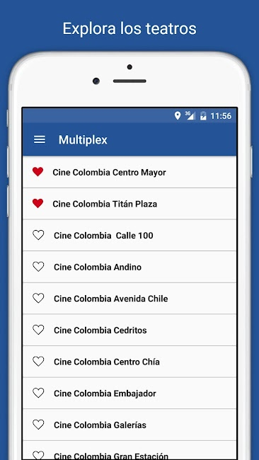 #6. Cine Colombia S.A. (Android)