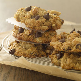Banana-Oatmeal-Chocolate Chip Cookies.