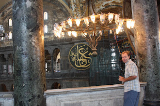 Photo: Day 114 - The Hagia Sophia, Rog in the Gallery