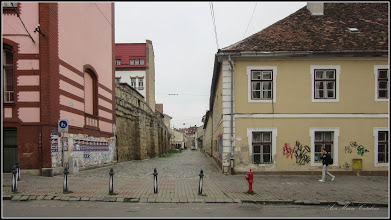 Photo: Cluj-Napoca - Str. Universitatii  vedere Str. Potaissa - 2017.11.14