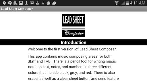 Lead Sheet Composer