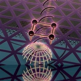 The Taryton Drop by Rick Eskridge - Illustration Sci Fi & Fantasy ( fantasy, mb3d, fractal, acdsee 19, twisted brush )