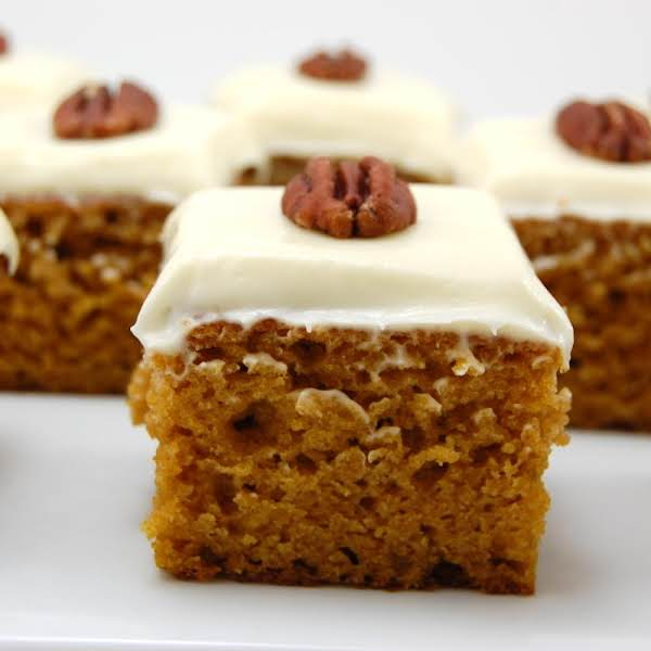 Pumpkin Apple Bars Recipe
