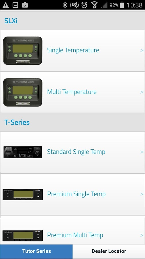 Thermo King Tutor Series: screenshot