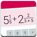 Fractions Calculator - detailed solution available 2.9 (Pro)