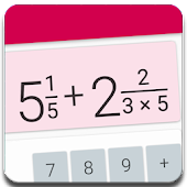 Fractions Calculator - detailed solution available