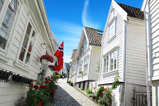 Norway-Stavanger1 - The scenic city of Stavanger can turn a stroll into a hike through the city's hillsides.