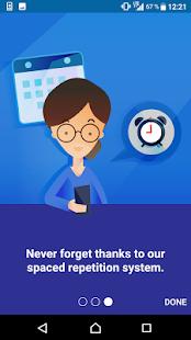 VocApp Flashcards - náhled