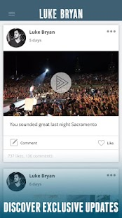 Luke Bryan- screenshot thumbnail