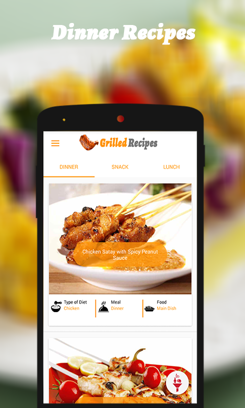 Grilled Recipes- screenshot