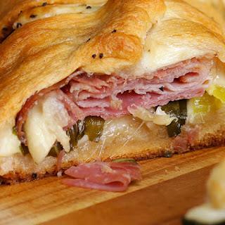 Baked Ham & Cheese Ring Recipe