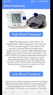 Download Blood Pressure - BP INFO For PC Windows and Mac apk screenshot 2