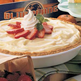 Strawberry Cheesecake Pie.