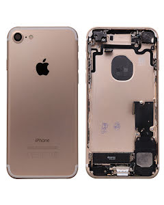 iPhone 7G Housing with small parts Original Pulled Gold