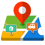 Smart GPS Route Finder - GPS Maps Navigation Free Icon