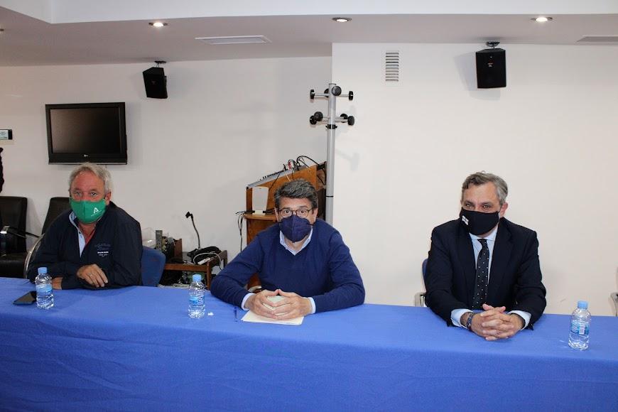 Diego Vargas, Juan José Matarí y Ángel Escobar.
