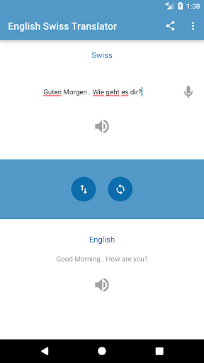English Swiss Translator ApkUpdate 2