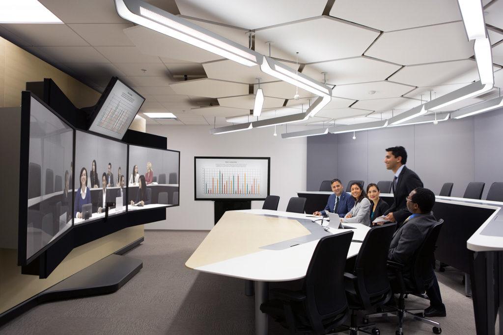 Không gian cho các cuộc họp và hội nghị là nơi thể hiện hiệu quả công việc của công ty