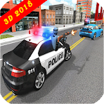 Police Car Racing 3D Icon