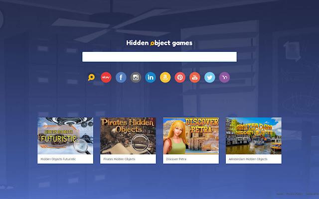 Hidden Object Games Start