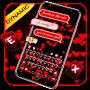 Love Hearts Keyboard Theme