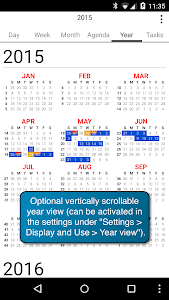 CalenGoo Calendar - Free Trial screenshot 6