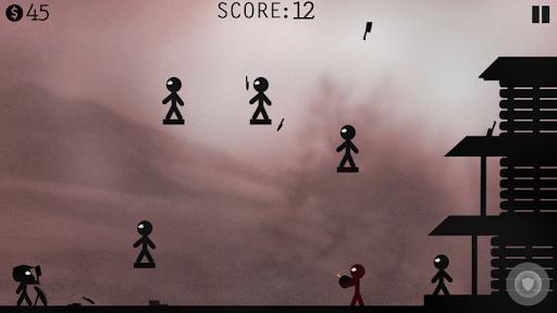 Stickman Battle - Knife Hit! screenshots 2
