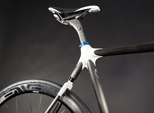 Photo: Calfee Manta Pro Dash Cycles Post Seat Lug Detail