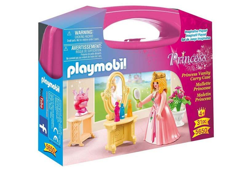 Contenido real de Playmobil® 5650 Maletín Princesa
