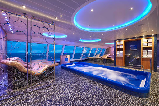 Located in the Cloud 9 Spa on Carnival Panorama, the Thermal Suite offers a choice of relaxing environments including dry heat and a steam bath.