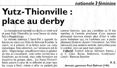 Photo: 21-11-2010 le derby face à Hagondange promet une belle empoignade