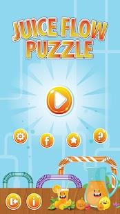 Juice Flow Puzzle - náhled