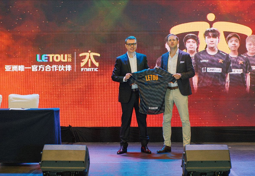 Fnatic announces Letou as its official partner for another year