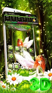 Beautiful Green Forest Fairy Theme 1.1.3 Download Mod Apk 3