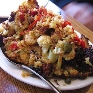 Spicy Cauliflower.