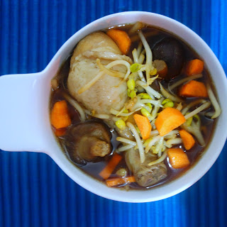 Asian Chicken Soup With Rice Noodles Recipes.