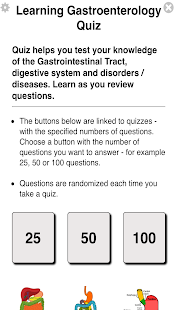 Learning Gastroenterology Quiz- screenshot thumbnail