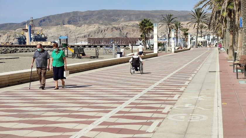 Paseo Marítimo de Almería, en una imagen de archivo.