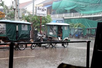 Photo: Year 2 Day 42 -  Pub Street in the Rain