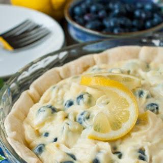 Lemon Blueberry Cream Pie Recipe