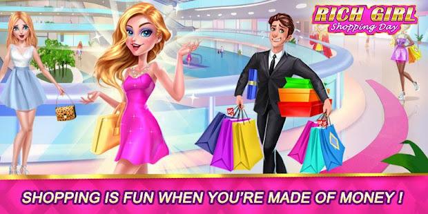 Rich Girl Shopping Day Juegos Vestir Y Maquillar Apps En