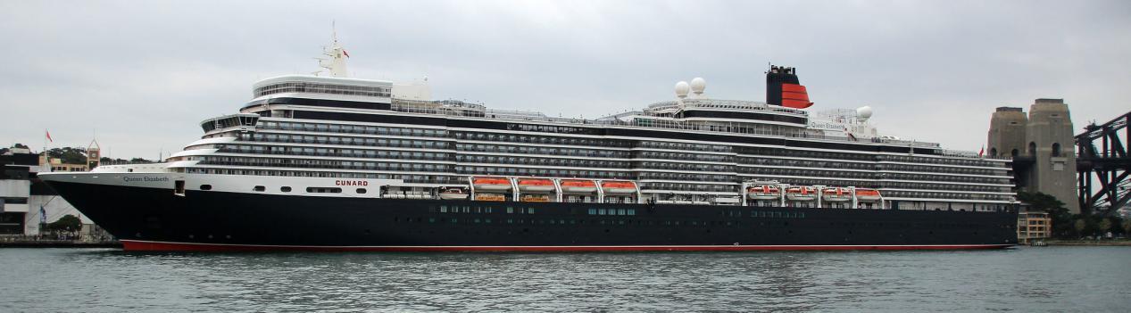 Cunard Line - MS Queen Elizabeth