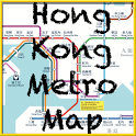 Hong Kong Metro Map icon