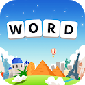 Word World Tour: Pic & Trivia Stacks Puzzle Games icon