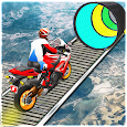 Moto Bike Stunt Racing: Impossible Track Game