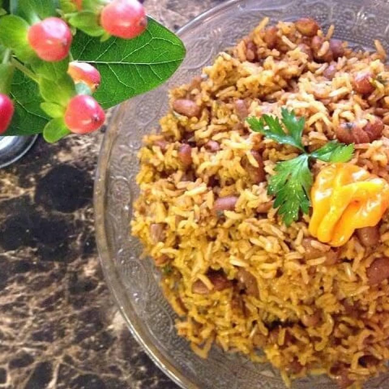 Diri Kole (Haitian Rice and Beans)